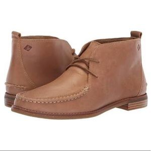 Sperry Top Sider Seaport Tahoe Leather Boots Tan
